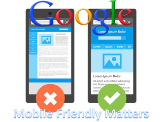 Google Ranks Mobile Friendly Sites Now!!