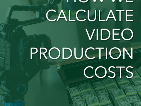 How we calculate video production costs