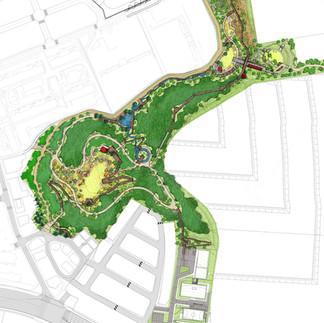 인천검단택지개발공원녹지