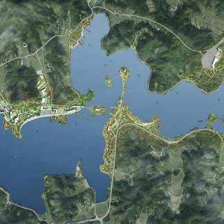 고삼호수수변개발사업계획