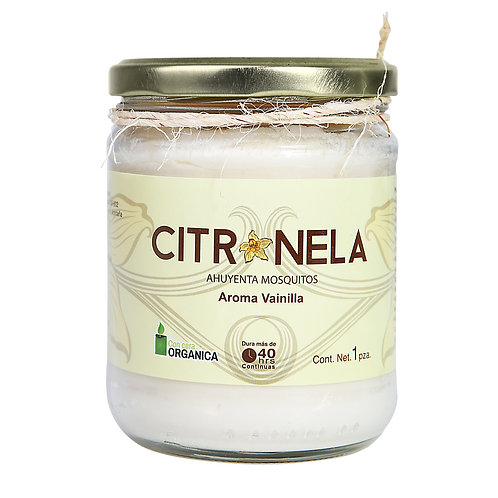 Citronella  Scented Jar