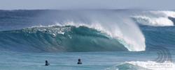 surfing margaret river, near gas.