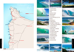 map of surf spots cape to cape south west