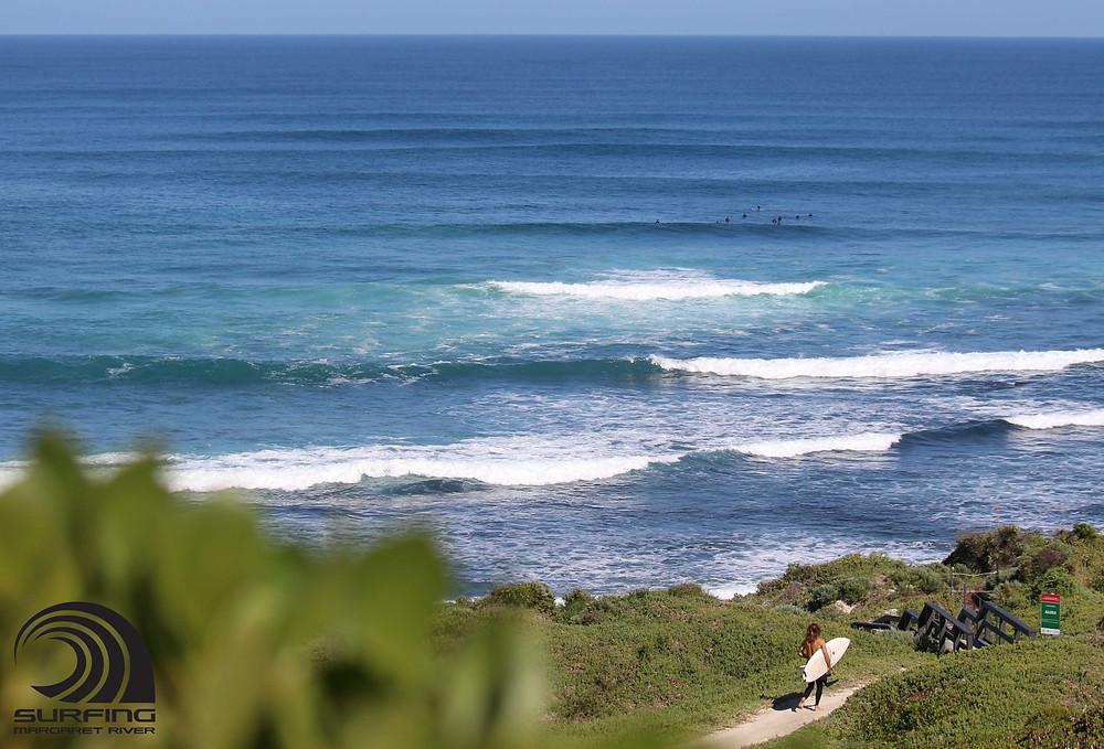 learner surf breaks margaret river