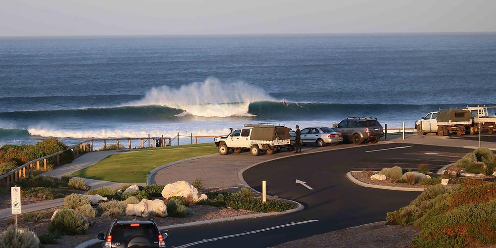 dawn patrol surfers point