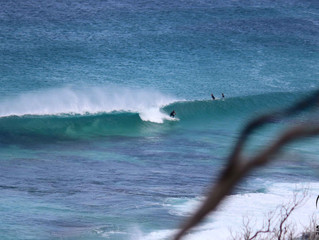 Weekend of surf and rides