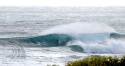 surfing margaret river, the bay.