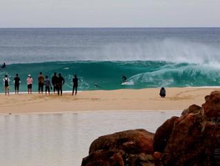 Heavin' beach breaks, broken boards, shark sirens and tiger snakes. It was on!