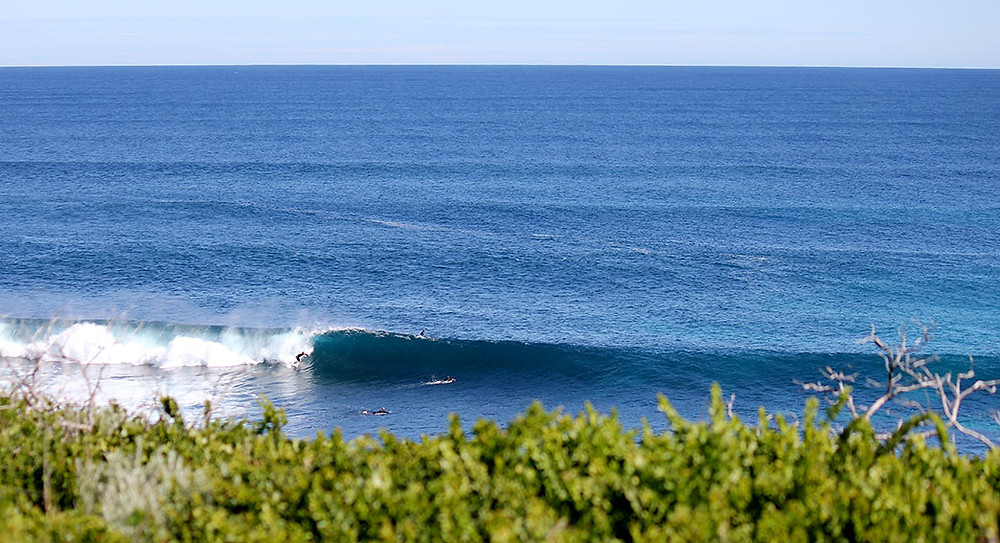reef break, surfing margaret river