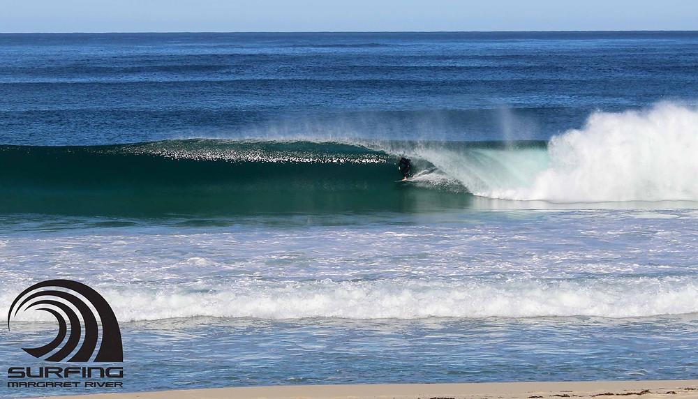 clean beginner wave