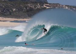 surfing margaret river, summer days.