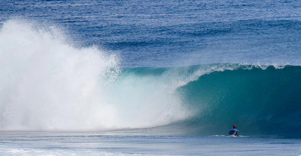 lefties strip, surf in margaret river