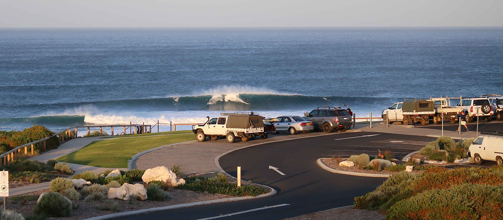 bigger swell than expected