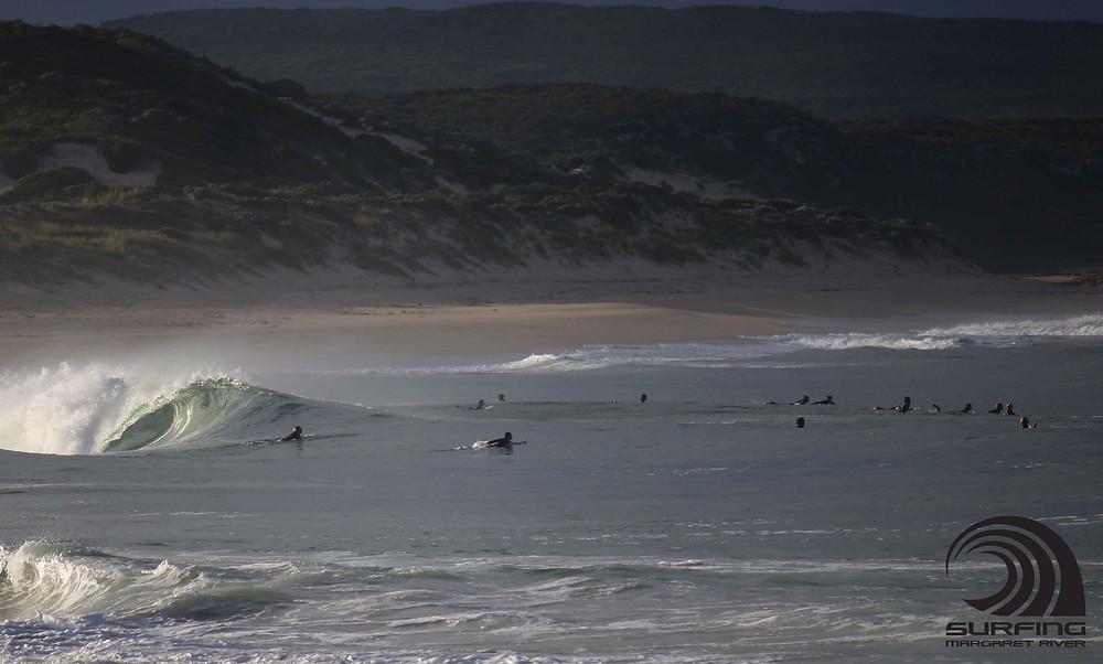 morning surf Margaret River
