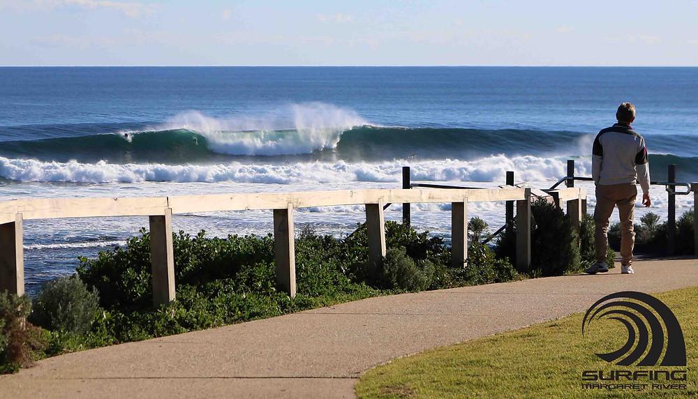 mainbreak low tide
