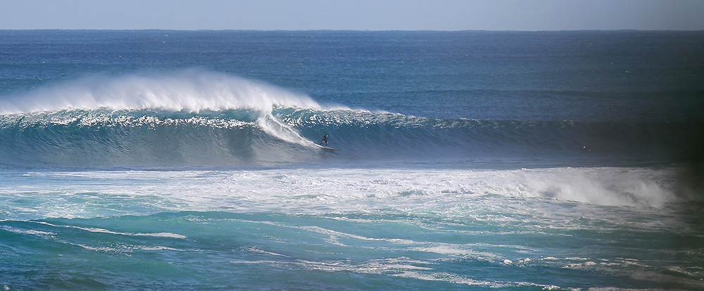 surfing margaret river big swell