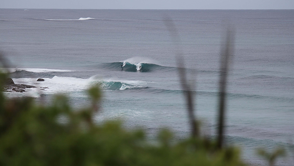 lefts and rights, surf spot in margaret river
