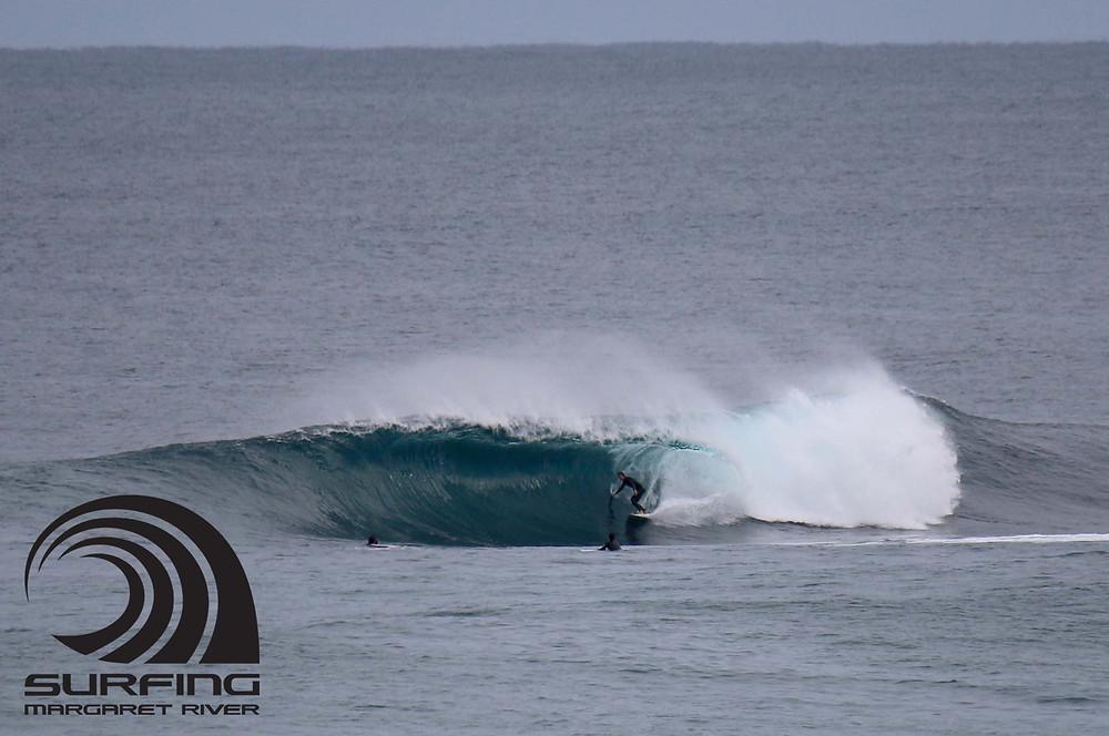 in the tube margaret river surf 2021