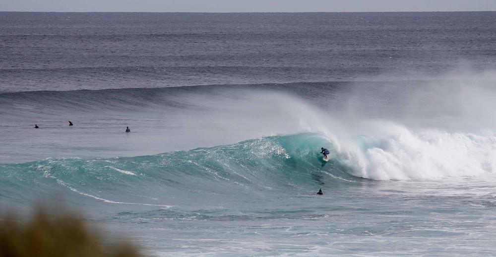 surf spots around margaret river, spot x