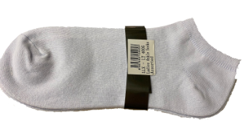 Ankle Cotton Socks (Bundle of 2 Pairs) (Free Size)