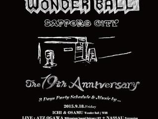 "Wonder Ball ""The 19th Anniversary"""