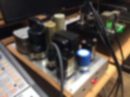 カスタム真空管マイクアンプ