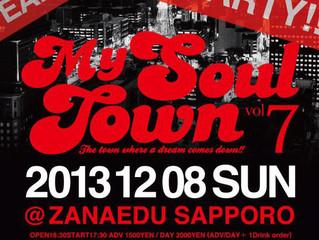 【MY SOUL TOWN Vol.7 】 @Jasmac Plaza ZANAEDU