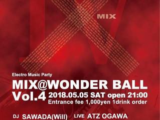 【MIX Volume.4】@Wonder Ball