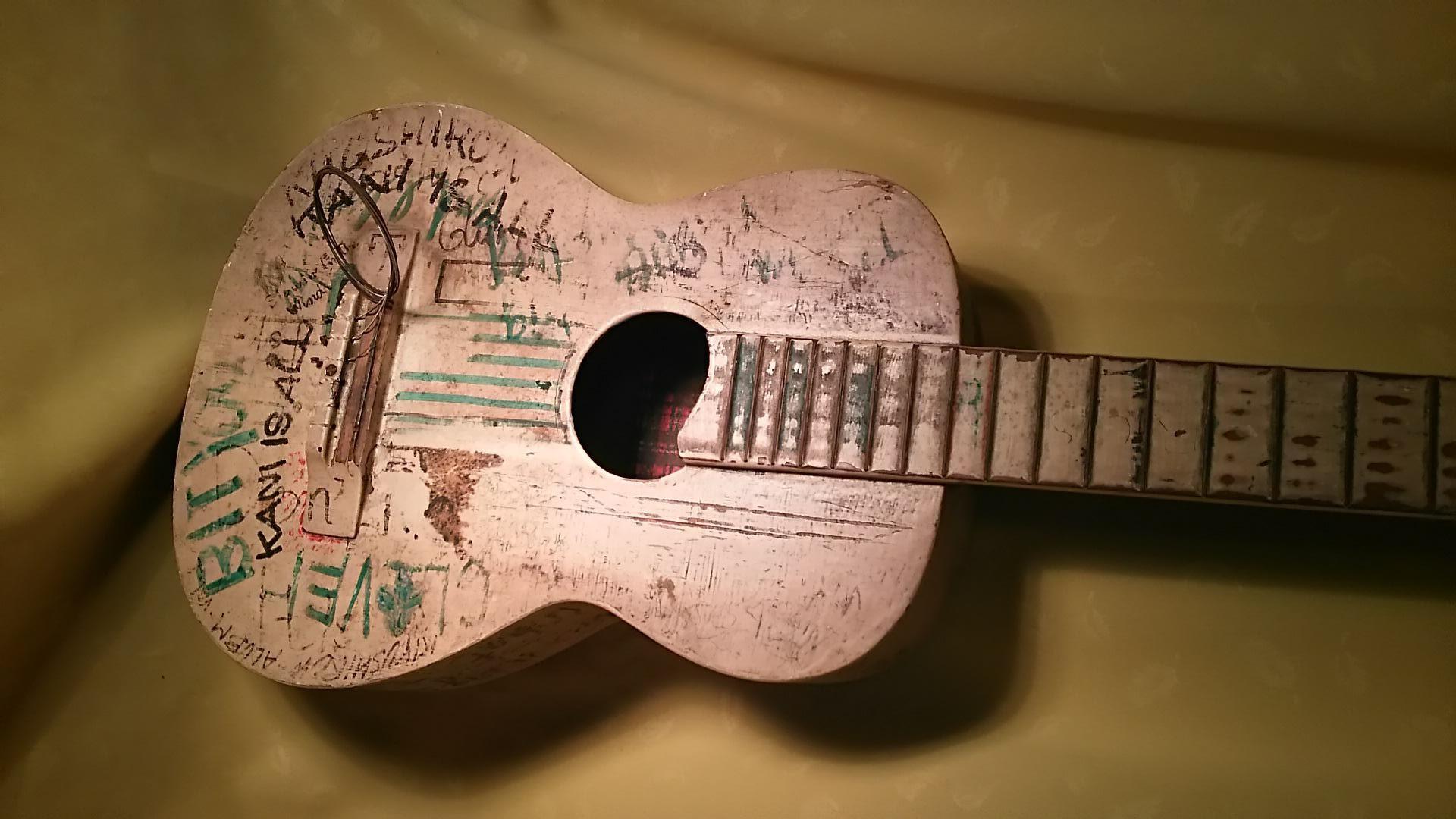 忌野 清志郎さんのギター