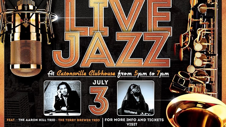 Beyond The Natural Foundation Presents: Live Jazz at Catonsville Clubhouse