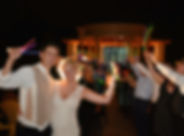 bride and groom glow sticks.JPG