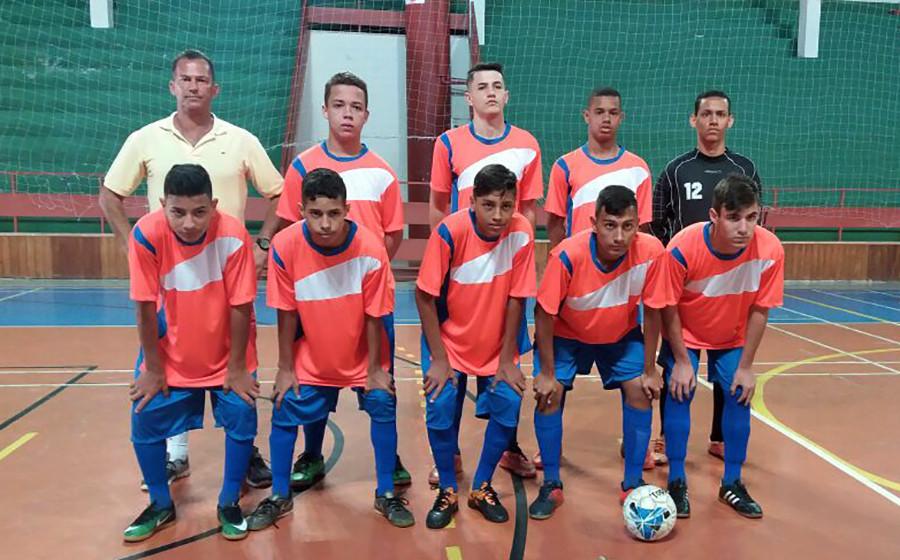 Garotada do Futsal holambrense