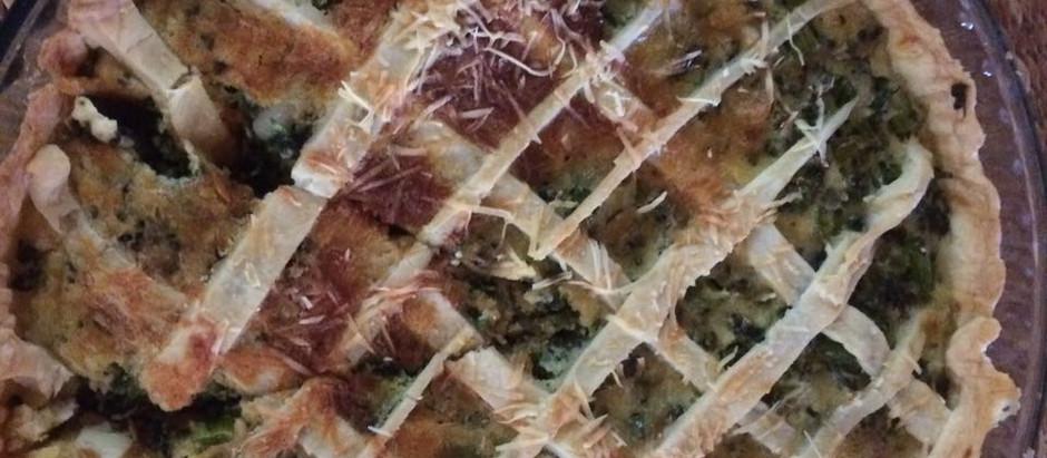 Sabor, saúde e leveza: Torta de brócolis!