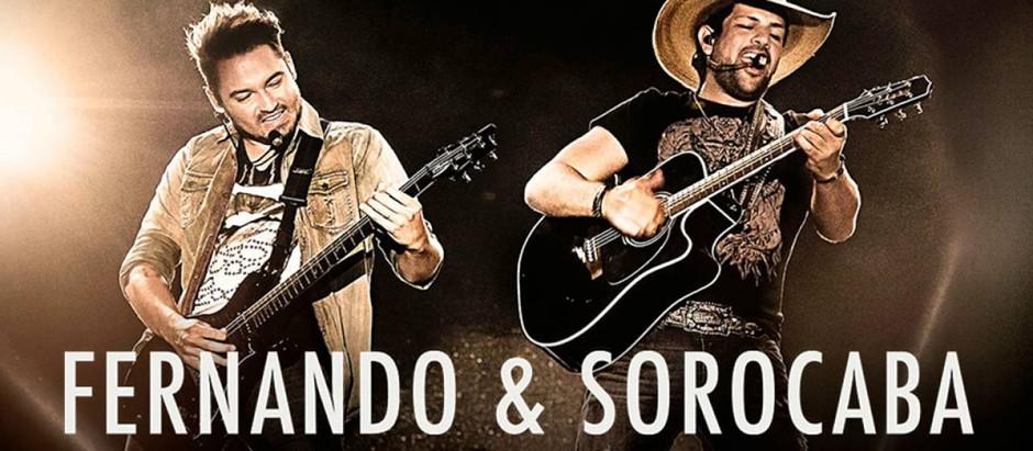 Jornal da Cidade sorteará 20 ingressos para gravação do DVD de Fernando & Sorocaba