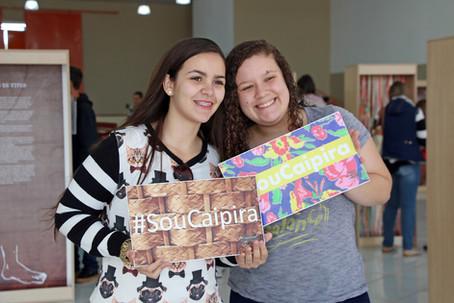 Estudantes das escolas municipais visitam exposição sobre Cultura Caipira