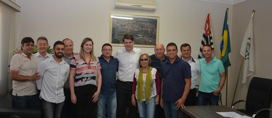 Presidente da Alesp visita Posse e promete verba de R$ 500 mil para obras na cidade