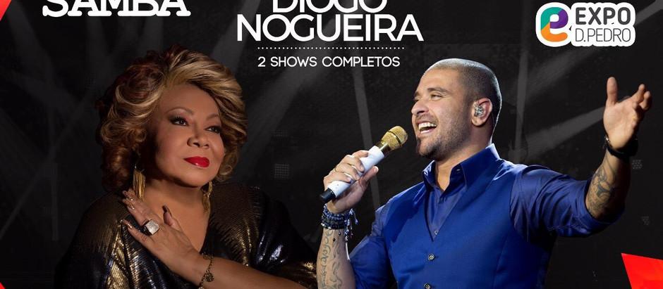 Alcione e Diogo Nogueira cantam em Campinas nesta sexta-feira, 28