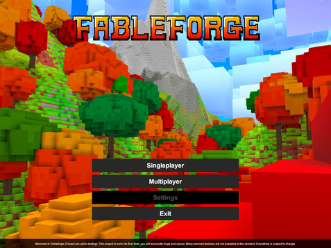 Fableforge Weekly Update #1