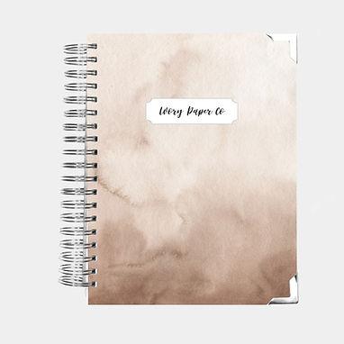 Notebook | Creamy Watercolor