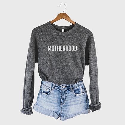 Motherhood Comfy Sweatshirt - Gray