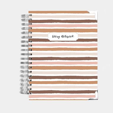 Notebook   Nude Stripes