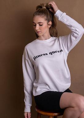 Fitness Queen - Comfy Sweatshirt