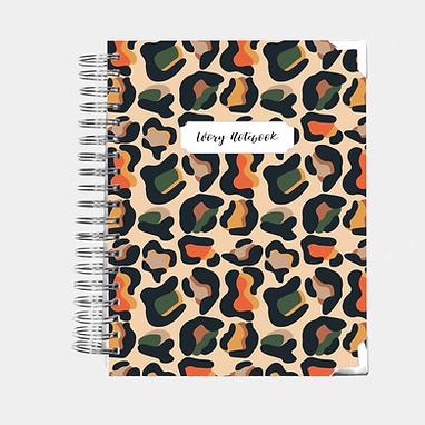 Notebook   Wild Animal Print