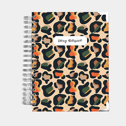 Notebook | Wild Animal Print
