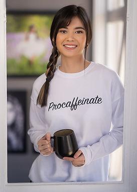 Procaffeinate - Comfy Sweatshirt - By Whole Kindness