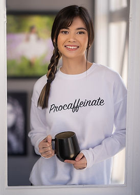 Procaffeinate - Comfy Sweatshirt - By Whole Kindness
