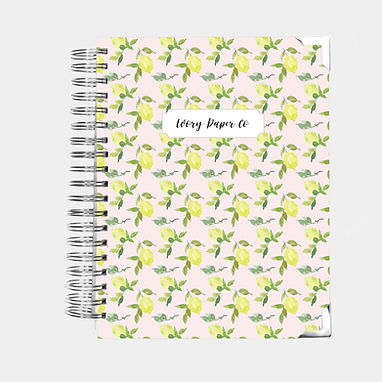Pink Lemons | All-In-One Planner (Daily, Weekly & Monthly)