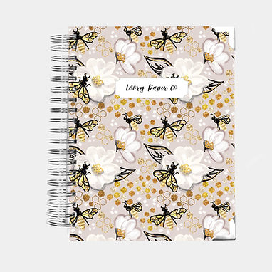 Golden Bees | Ultimate Weekly Planner | 12 Month