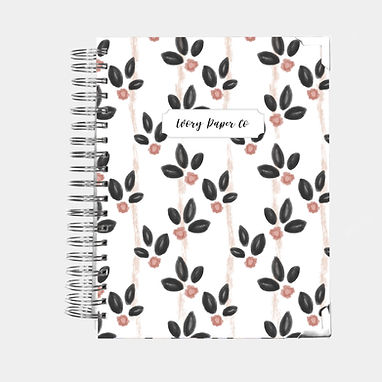 Vintage Blooms | All-In-One Planner (Daily, Weekly & Mont