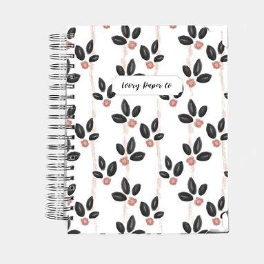 Vintage Blooms | Vertical Weekly Planner (12 Months)